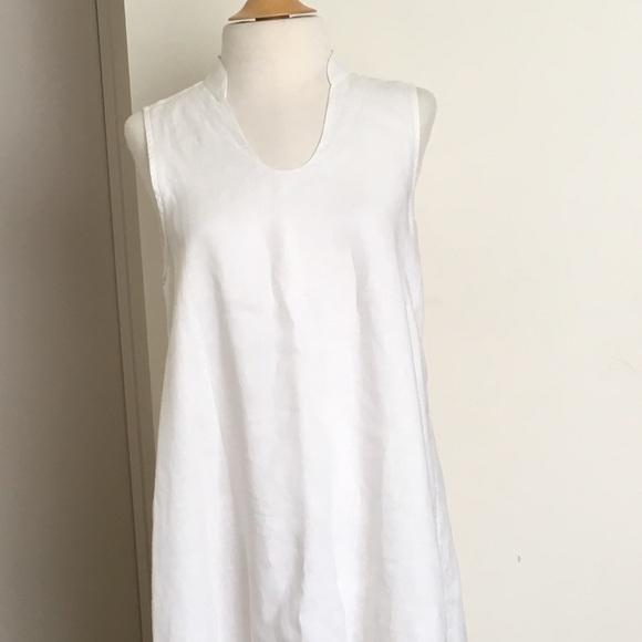 83f87bf70 Dresses & Skirts - Island Company Women's Dress 100% Linen Persephone